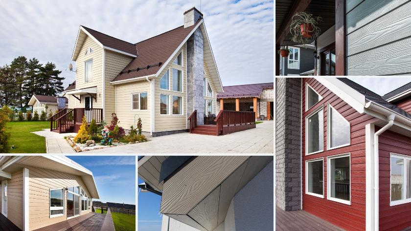 Отделка дома фиброцементным сайдингом - все о строительстве и инструментах