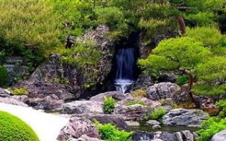 Как сделать водопад на участке: фото оригинальных идей и пошаговое описание как своими руками создать мини-водопад