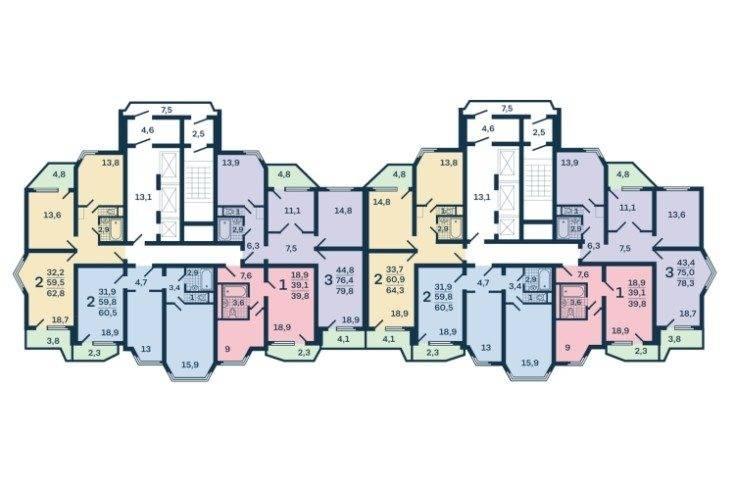 Дизайн квартиры п-44т по всем канонам современного дизайна