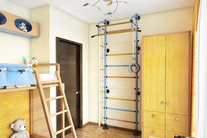 Шведская стенка своими руками: чертежи, рекомендуемые размеры, способы сборки из дерева и металла