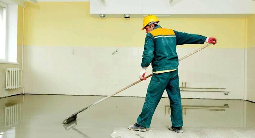 Чем обработать бетонный пол от пыли – простые варианты