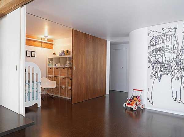 Перегородки в квартире-студии