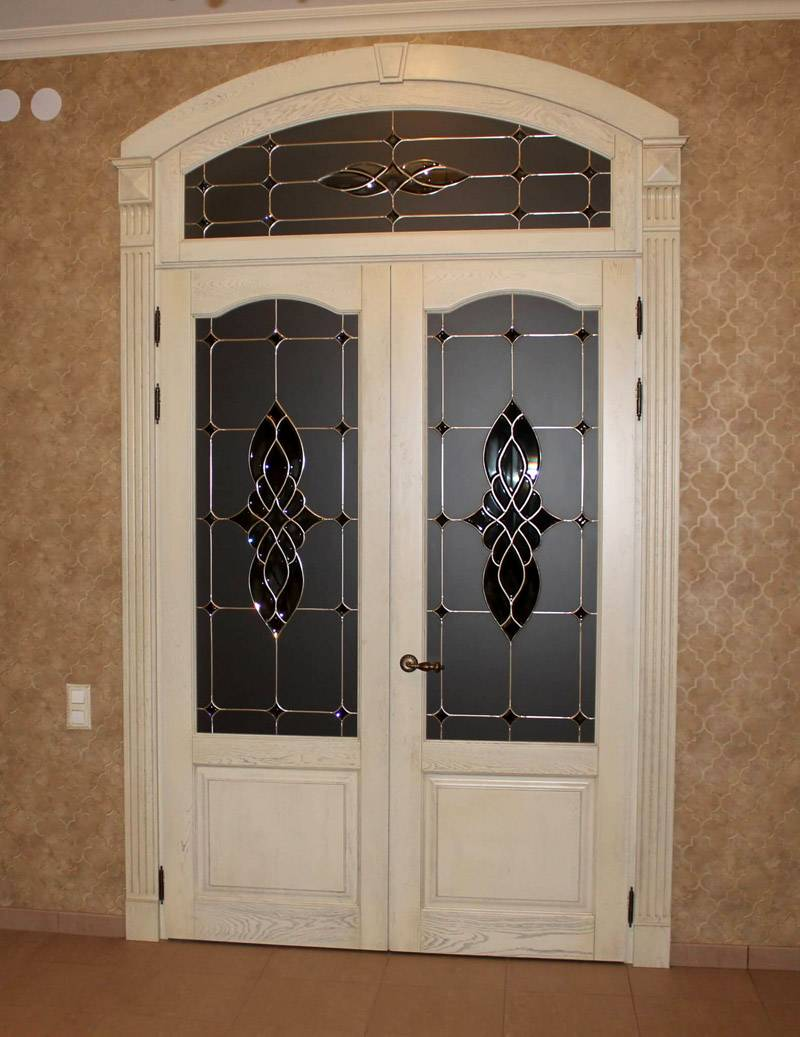 Размеры стандартных межкомнатных дверей с коробкой