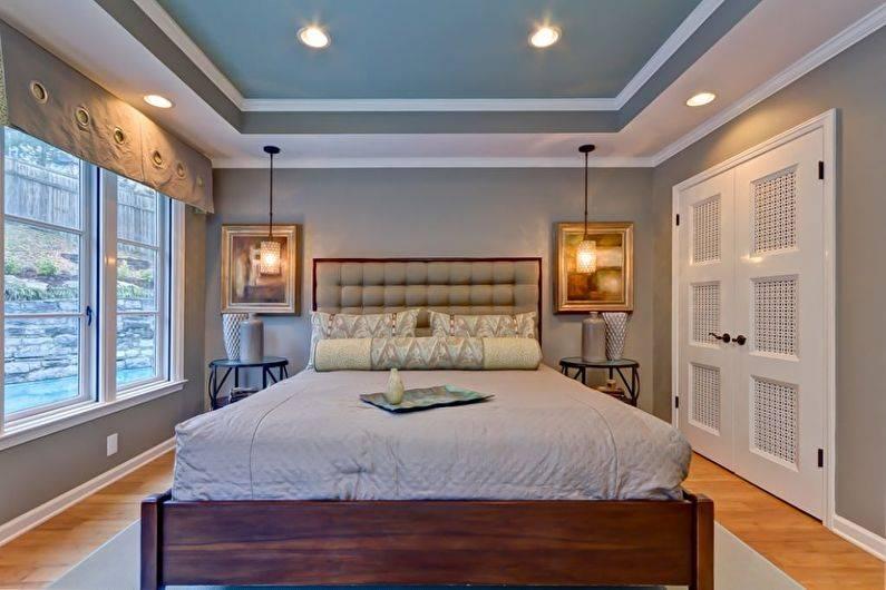 Потолки из гипсокартона в спальне: как своими руками сделать своими руками гипсокартонные конструкции с подсветкой, фото красивых дизайнов, видео
