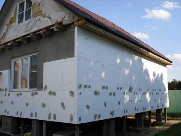 Технология утепления стен пеноплексом: снаружи и изнутри дома