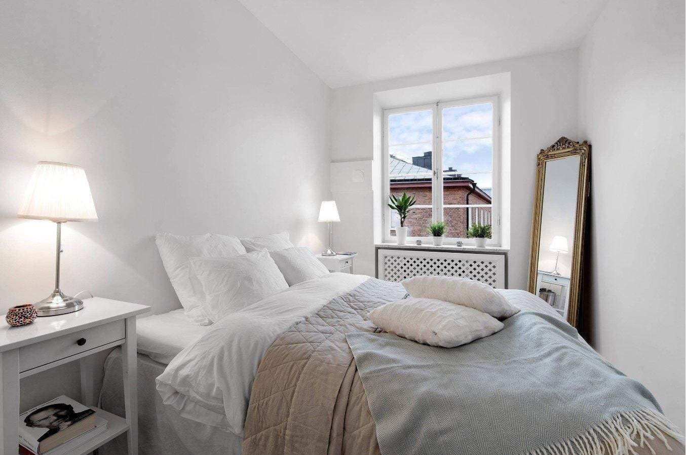 Спальня 16 кв. м. – 75 фото проектирования, зонирования и оформления небольших спален