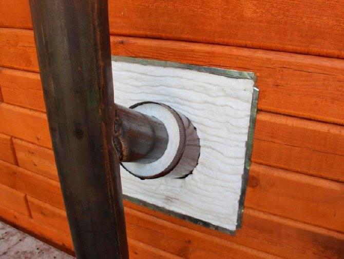 Устройство дымохода в деревянном доме: основные правила