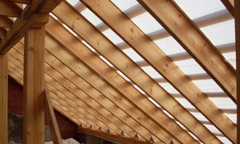 Стропильная система крыши с ендовой: характерные особенности и трудности монтажа