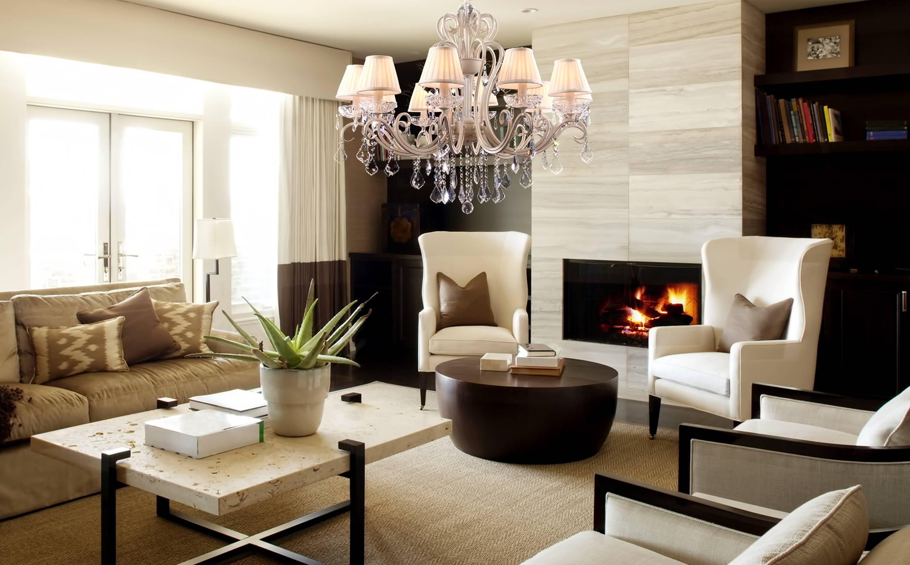 Как выбрать люстру: виды, размер, диаметр, интерьер, площадь зала, гостиной или другой комнаты