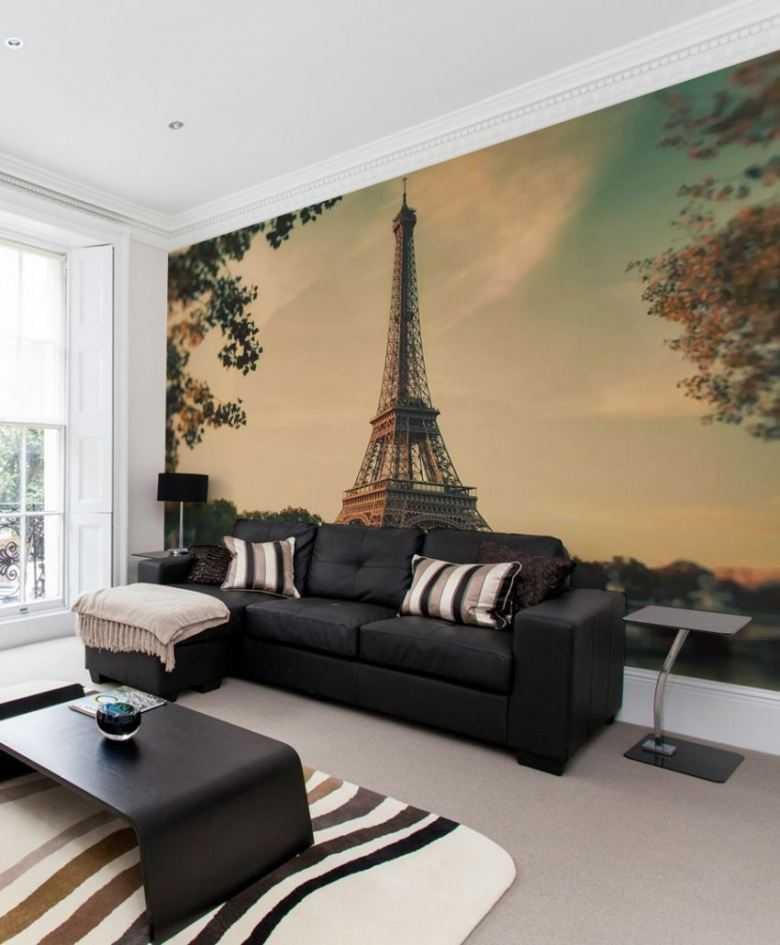 Дизайн интерьера комнаты с северной стороны