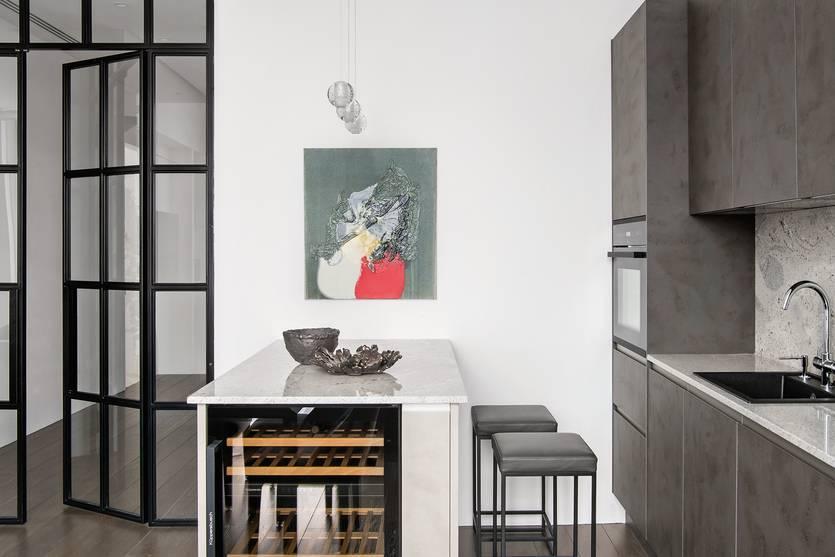 Отделка стен на кухне, материалы и их виды - фото примеров