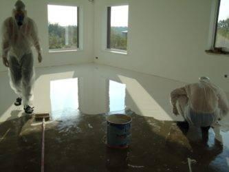 Сколько сохнет наливной пол: инструкция о том, как сушить пол!