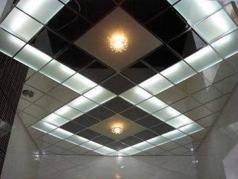 Стеклянный подвесной потолок: статья о пользе стекла