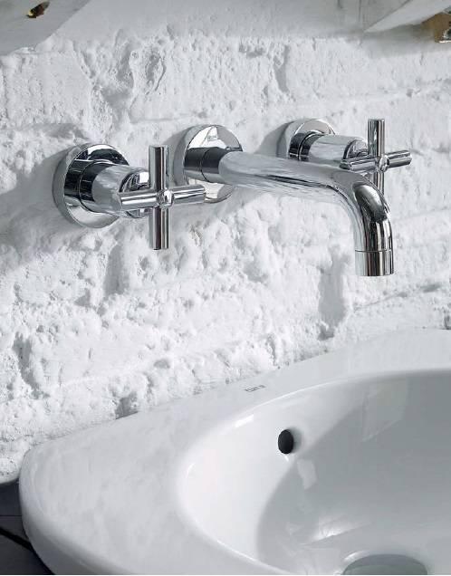Выбор встроенных смесителей для ванной комнаты: технические характеристики