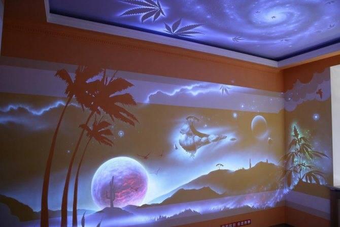 Люминесцентная краска своими руками в домашних условиях: видео, инструкция
