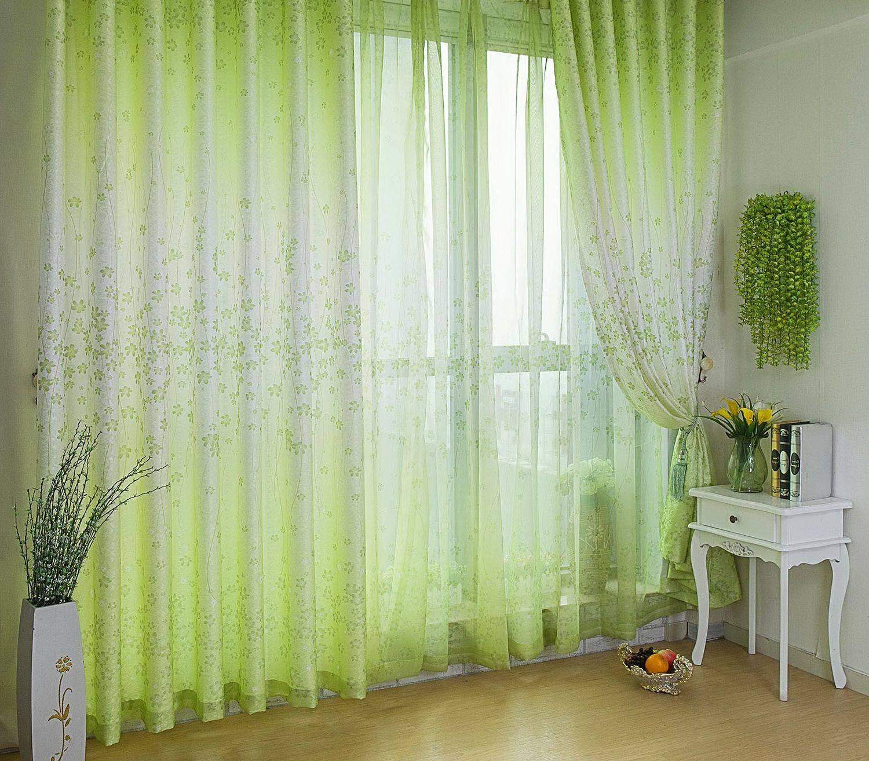 Шторы зеленого цвета в интерьере - уникальные советы по созданию свежего дизайна