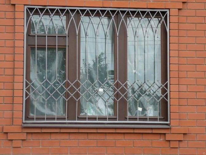 Решетки на окна - 105 фото лучших вариантов защиты окон и балконов