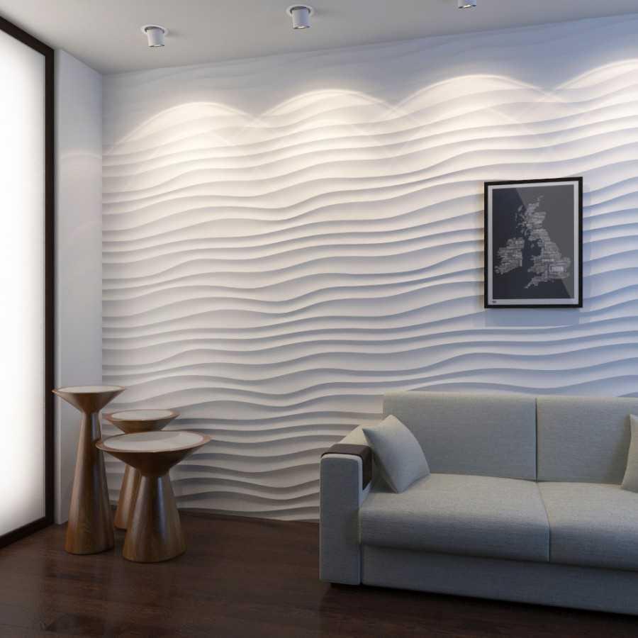 3d панели для стен в интерьере – как оформить