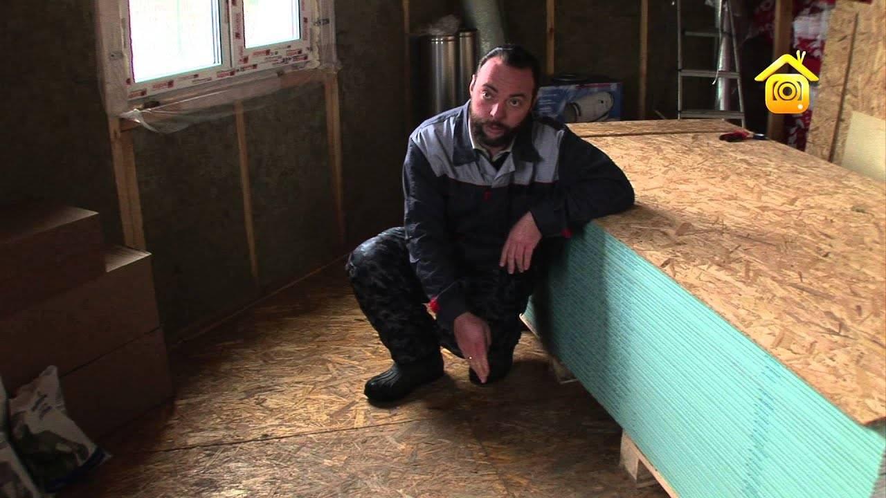 Каркасный дом 6х6 своими руками: пошаговая инструкция