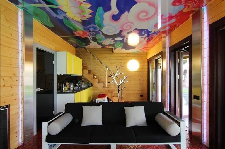 Выбираем дизайн для натяжных потолков