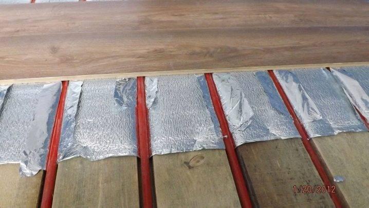 Устройство теплого пола на бетонном основании