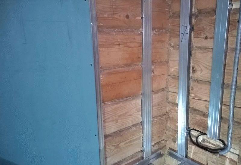 Внутренняя отделка каркасных домов гипсокартоном