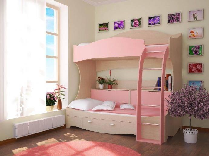 Двухъярусные кровати для взрослых в интерьере, их виды и особенности
