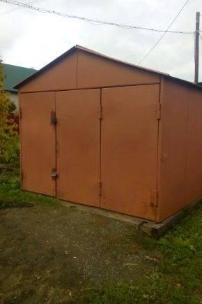 Строительство металлического гаража своими руками - о строительстве и ремонте простыми словами