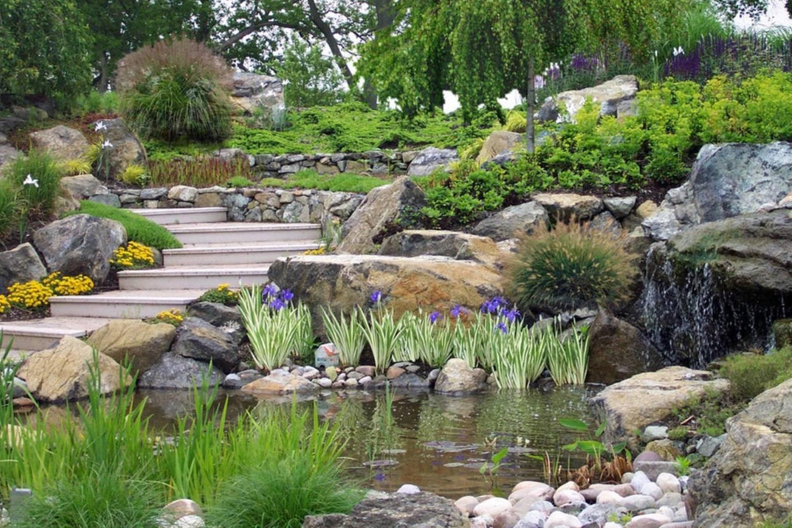Садовый декор - лучший декор для сада и основные правила размещения основных элементов декора (120 фото)