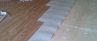 Все о выравнивании деревянного пола фанерой