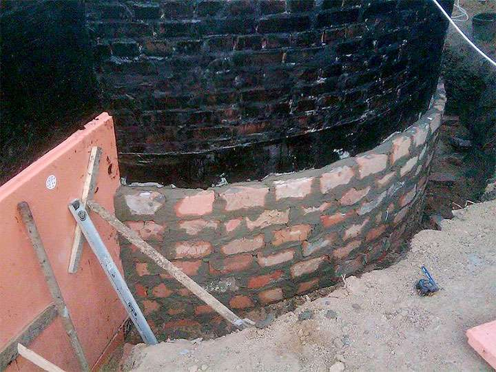 Фундамент из фбс - пошаговая инструкция строительства фундамента из блоков своими руками, видео