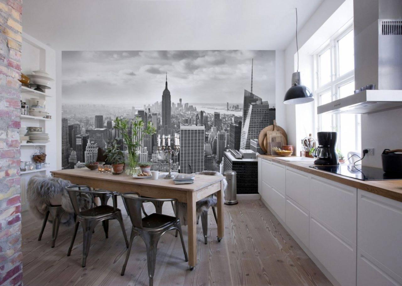 Фотообои 3д для кухни: как выбрать современные обои 3d на стену в кухне