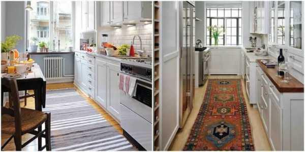 Ковер на кухню: коврик на пол своими руками, палас и ковролин из плитки в рабочую зону, что можно постелить вместо - водонепроницаемые