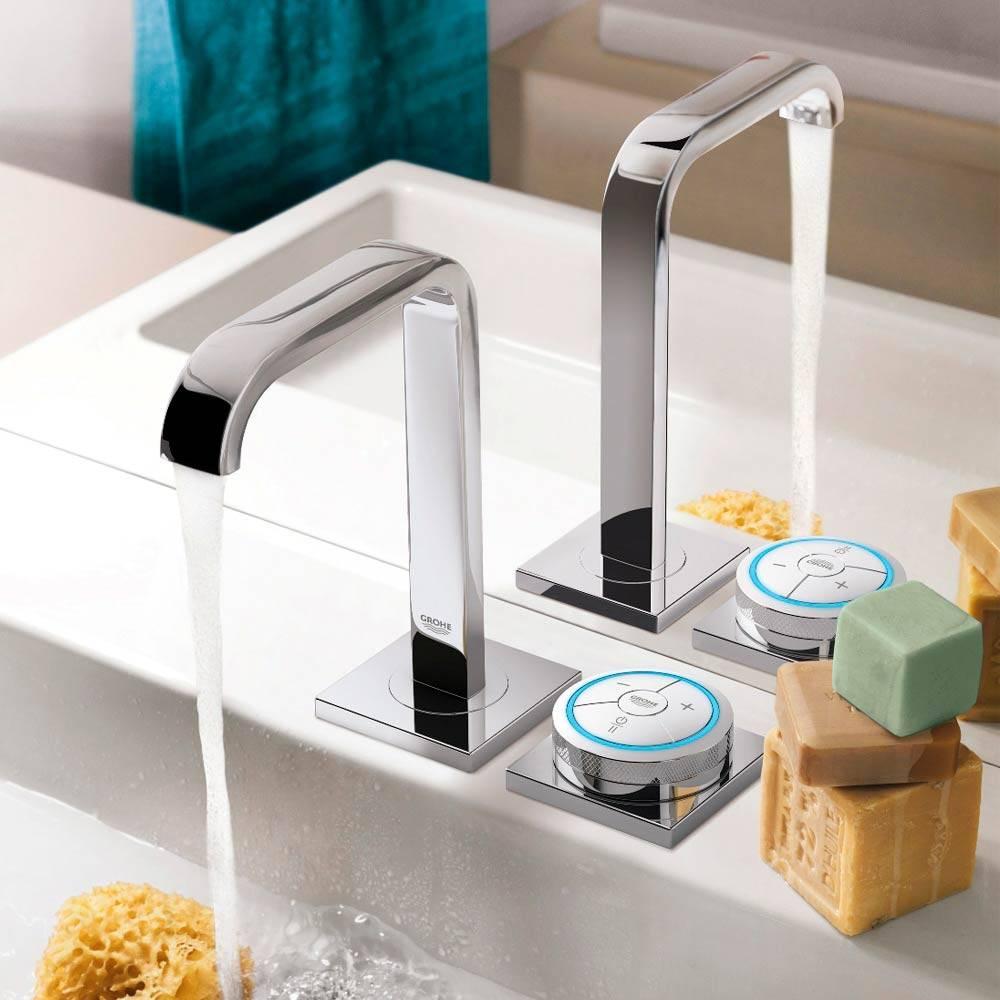 Сенсорный кран для воды: устройство смесителя- плюсы и минусы и как правильно выбрать +фото и видео
