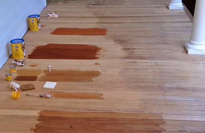Чем покрыть деревянный пол - лак, масла или краска