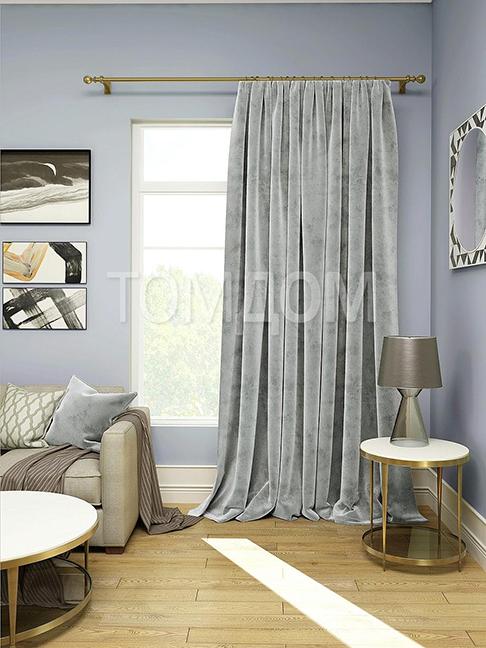 Применение черных штор в интерьере гостиной, спальни, зала и кухни