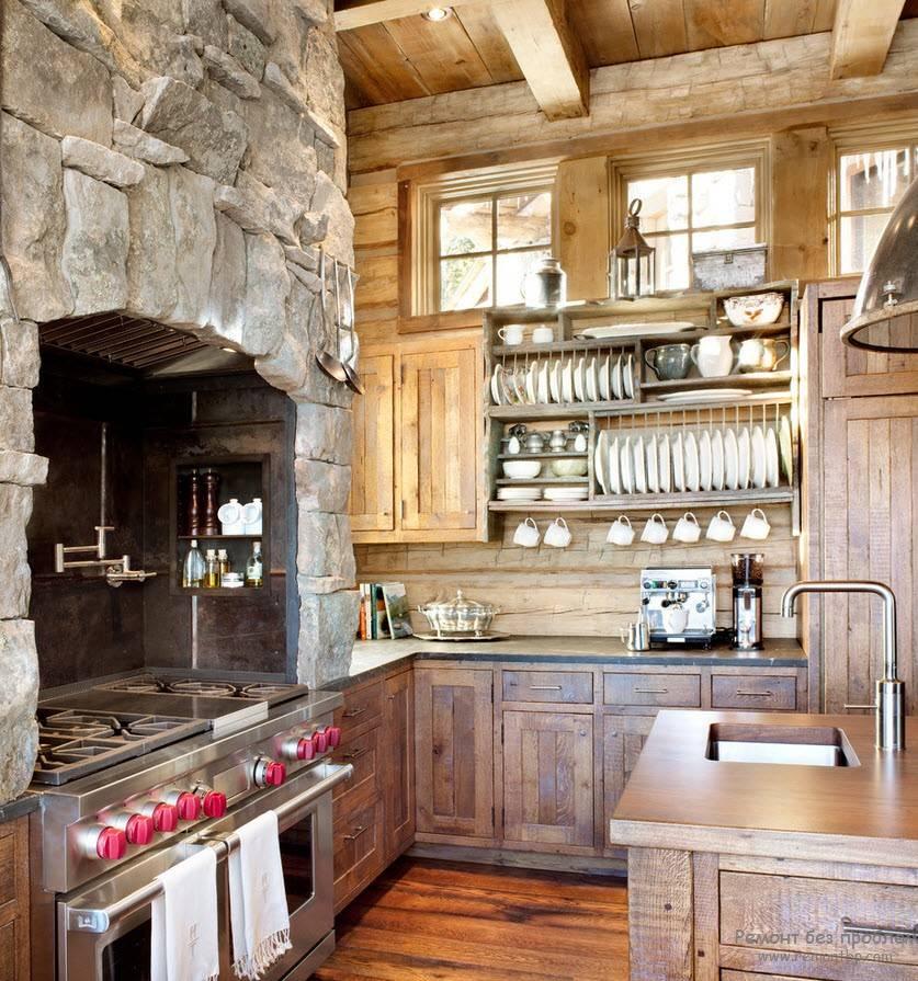 Как оформить кухню в стиле кантри - 28 фото
