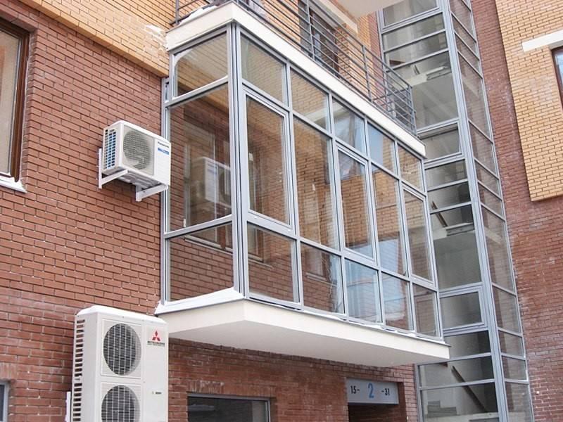Какие бывают окна для балкона