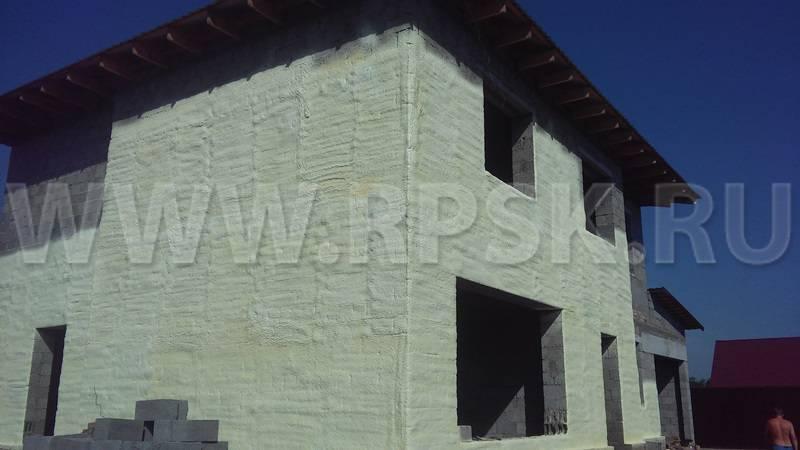Напыляемый утеплитель в баллонах полинор: плюсы и принцип действия, теплоизоляция внутри и снаружи зданий