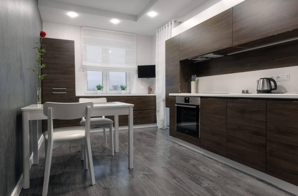 Особенности бежево-коричневых кухонь