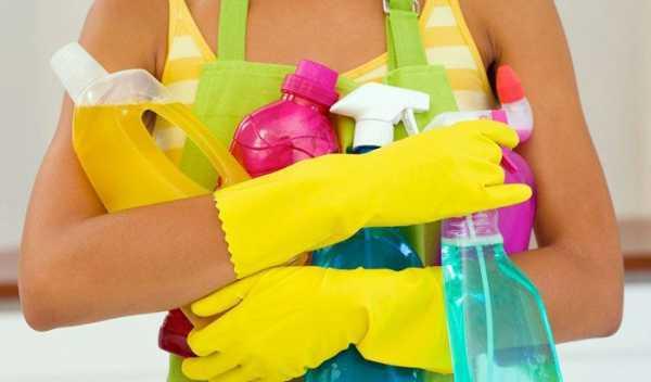 Как мыть натяжные потолки легко и без разводов