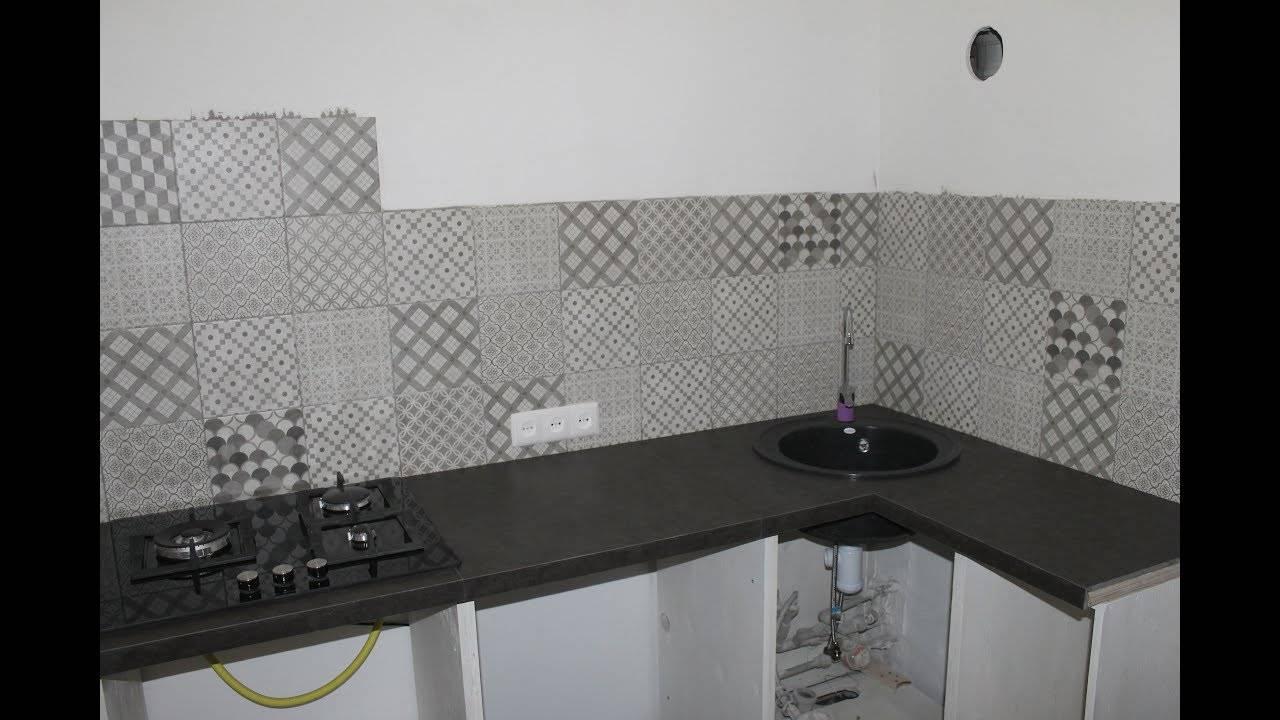 Столешницы из плитки на кухню: особенности, виды и их характеристики