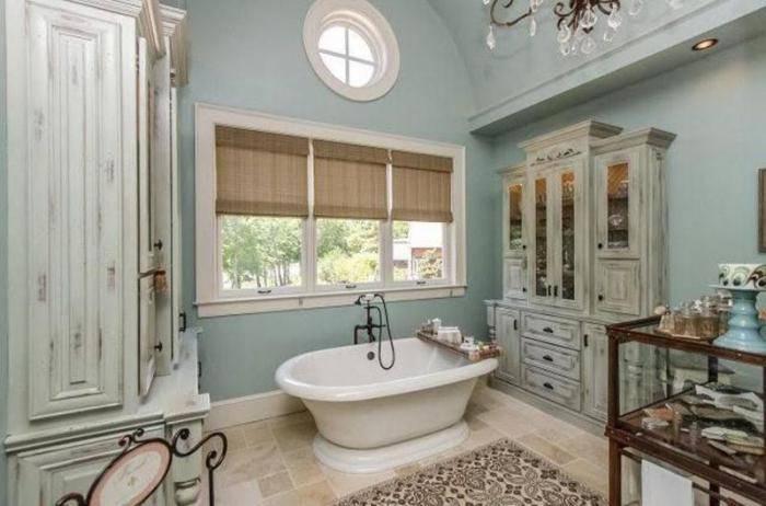 Ванная в стиле прованс - как сделать уголок франции дома