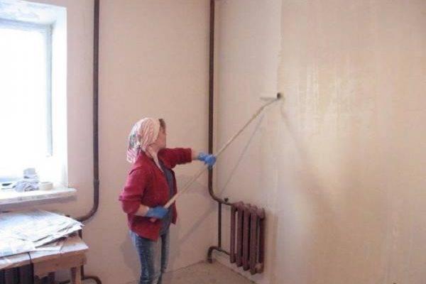 Штукатурка под покраску: подготовка поверхности и этапы работ