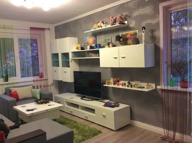 Дизайн-проект однокомнатной квартиры: 85 лучших реализаций