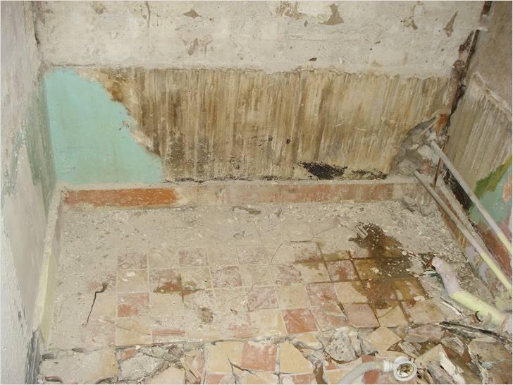 Этапы ремонта ванной комнаты