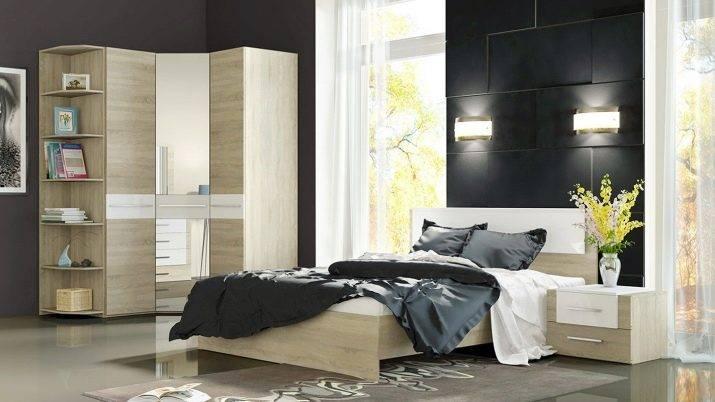 Угловой шкаф в спальню (123 фото): идеи дизайна, размеры, маленький и большой для одежды шифоньер, белый встроенный и модульный