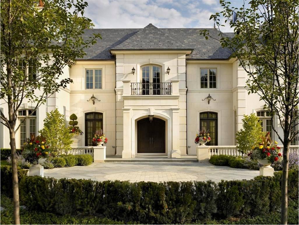 Особенности стилей фасадов домов