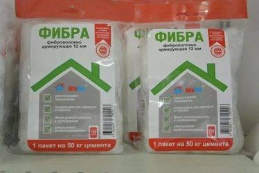 Расход фиброволокна на 1 м2 стяжки: сколько добавлять раствора фибры для бетона
