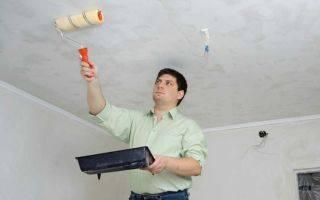 Как покрасить потолок водоэмульсионной краской по старой водоэмульсионке: пошаговая инструкция работ    в мире краски